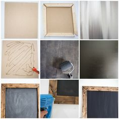 DIY Magnetic Chalkboard | At Home: A Blog by Joanna Gaines