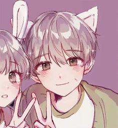- ➶᭕ · ꧇ꦹ͓ͯ ᎓ ꜥꜤ ༘ ᭝⁺ ➶᭕ # · ᎓ ໍ ꫶ - Animation Anime Couples Drawings, Anime Couples Manga, Cute Anime Couples, Kawaii Anime Girl, Anime Art Girl, Cute Anime Pics, Cute Anime Boy, Kawaii Drawings, Cute Drawings