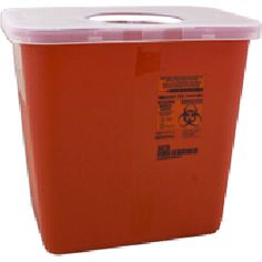 Bio-Hazard Sharps Container - Price ( MSRP: $ 16.84Your Price: $6.05Save up to 64% ).
