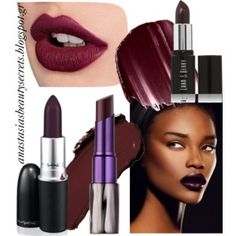 Τάσεις: Dark Berry lipsticks | Anastasias Beauty Secrets