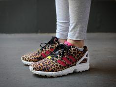 online retailer f69d6 7d0d0 ... adidas ZX Flux W Leopard (schwarz braun weiss) - The Good Will ...