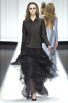 Gothic fashion has turned into quite an industry.  Form, line & balance merge into a unique look.