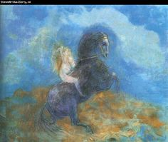 Odilon Redon The Valkyrie