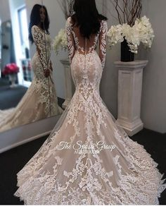 Fabulous Jewel Sleeveless Sheath Lace Wedding Dress with Detachable Train Illusion Back