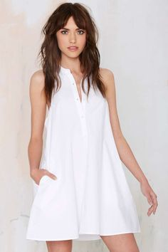 Lula Halter Shirt Dress