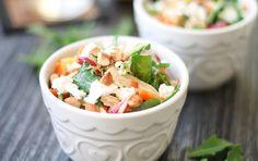 Recipe: Crunchy Veggie & Chicken Salad