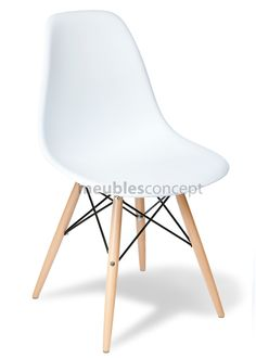 chaise daw charles eames style - polypropylène matt | dieta ... - Chaise Daw Charles Eames