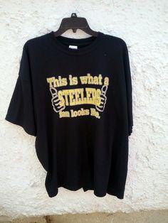 Cool item  Pittsburgh Steelers Fan T Shirt 2XL XXL Cool Stuff 4178d8250