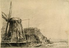 "The Windmill, 1641  -  Rembrandt (Rembrandt van Rijn) (Dutch, 1606–1669) - Etching  --  Gift of Felix M. Warburg and his family, 1941 (41.1.12)  --  ""Rembrandt (Rembrandt van Rijn): The Windmill"" (41.1.12) In Heilbrunn Timeline of Art History . New York: The Metropolitan Museum of Art, 2000–. http://www.metmuseum.org/toah/works-of-art/41.1.12. (October 2006)"
