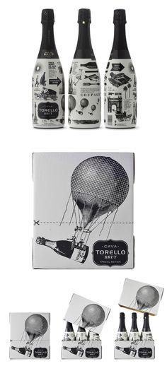 Nice, both bottle and outer box Enric Aguilera Asociados Förpackad -Blogg om Förpackningsdesign, Förpackningar, Grafisk Design - CAP&Design