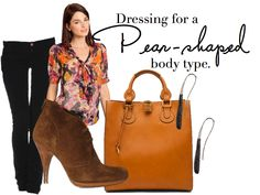 Dressing for a Pear-shaped body type