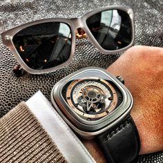 Weekly Watch Photo Seven Friday on Monday Monochrome Watches Monochrome Wa - gartenprojekte - Perm Hair Cool Watches, Watches For Men, Fancy Watches, Dream Watches, Men's Watches, Monochrome Watches, Watch Photo, Ray Ban Sunglasses, Stylish Men