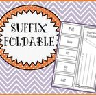 Have you students define what each suffix means and come up with words that match the suffix. The students will also be able to write their own sen...