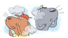 #ReganDunnick #illustration #childrensillustration #childrensbook #children #BigFogRescue #FrankandTank #animals #whimsical #hippopotamus #lindgrensmith