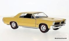 Pontiac-GTO-1965-metallic-gold-1-24-WELLY