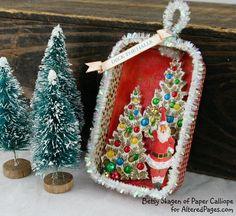 Altoid Tin: Turn it into a Christmas ornament