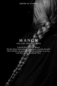 Empire of Storms - Manon [Spoilers]                                                                                                                                                                                 More