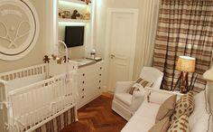 Decoração de quarto de bebê menino, com tema tenista.Projeto Isabela Dantas e Teca Martins. Blog de decoração e arquitetura.