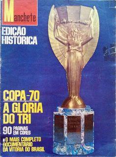 FIFA WORLD CUP 1970 - EDIÇÃO ESPECIAL REVISTA MANCHETE - 1970