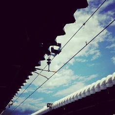 wait for train