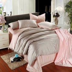 Novo! Tencel 4 pcs conjunto de cama cama conjuntos de roupa de cama queen king size cama capa de roupa de