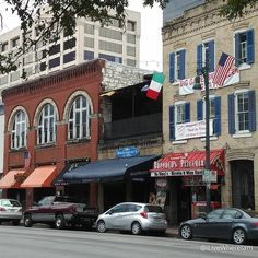 6th Street in Downtown Austin  -  Roppolo's Pizzeria, Shakespeare's Pub & Alamo Drafthouse  #Austin #Texas #downtown #6thStreet #pizza #beer #roppolospizzeria #shakespearsaustin #drafthouseaustin