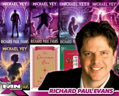 Meet author Richard Paul Evans at #FANX16! Best known for Michael Vey series & The Christmas Box. #utah