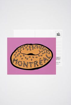 Art prints, post cards and greeting cards inspired by the city of Montreal! True North, First Names, White Envelopes, Montreal, Stationery, Greeting Cards, Art Prints, Cute, Bagel