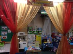 Chinese restaurant role play classroom theme