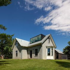 Revamped 1850's rustic house with a modern appeal