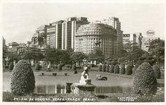 All sizes | Praça Paris em meados dos anos 50 | Flickr - Photo Sharing!