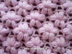Little flowers in crochet