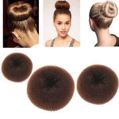 Great for creating the perfect fashion bun at weddings, dance recital or proms
