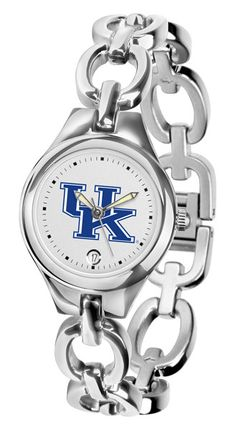The Eclipse Ladies' watch from Suntime combines the versatility of a jewelry inspired bracelet and the functionality of a collegiate timepiece. The fashionable Eclipse creates a graceful profile with