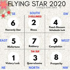 feng shui flying stars 2020 – Feng Shui Decor Tips for A Peaceful, Prosperous Space Feng Shui And Vastu, Feng Shui Cures, Feng Shui Tips, Feng Shui House, Feng Shui Bedroom, Mega Millions Jackpot, Feng Shui Office, Westerns, How To Feng Shui Your Home