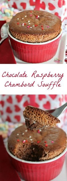 If you're cooking a romantic dinner for your Valentine, you'll want to include this warm, creamy, sinfully good Chocolate Raspberry Chambord Souffle Recipe. Valentines Day Food, Valentine Ideas, Best Dessert Recipes, Easy Desserts, Delicious Recipes, Souffle Recipes, Best Souffle Recipe, Best Chocolate, Chambord