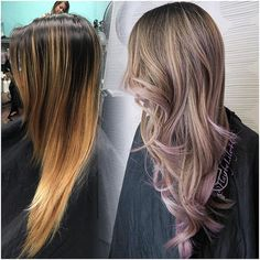 #mulpix Been away from my laptop so couldn't upload the side photo of @eilwong balayage with lilac accents. Gave her a haircut to refresh the layers too. This girl always brings me sweets from SF everyone she comes in. Especially my golden gate bakery egg tarts. #hairbylily408 #colorist #ashy #nobrass #balayage #baliage #ombre #ombrehighlights #balayageombre #ombrehair #lilac #colormelting #blond #highlights #btcpics #modernsalon #behindthechair #silverblond #guytan...