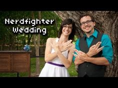 Nerdfighter Wedding.  Super nerdy and super adorable all at the same time.