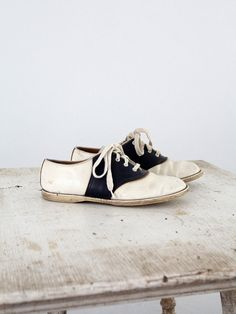 1950s Saddle Shoes ... I wore these. They never wore out. You just passed them down from one child to the next.