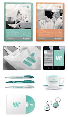 WEBER & WEBER Corporate Identity Design by Jiří Chlebus, via Behance