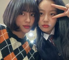 """강민아 on Instagram: """"tvn 여신강림 오늘 10:30pm🖤"""" Korean Actresses, Korean Actors, Actors & Actresses, Korean Dramas, Hot Korean Guys, Korean Girl, Korean Best Friends, Beauty Crush, Short Hair Styles For Round Faces"""