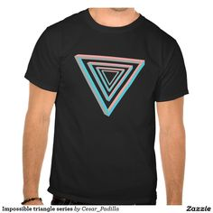 Impossible triangle series t shirt. #Math #Nerd #Geometry #Geek #Impossible