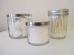 How To Clean A Candle Jar And Turn It Into A Very Useful, Very Pinterest Container For Your Vanity | Bustle
