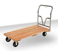 Hardwood Platform Carts  - $175 ea.  #cart #warehouse #mfg