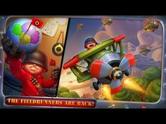 Top apps for Kids 2016 Fieldrunners 2  kids games to play for free
