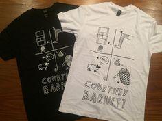 Court Knee Baa Net t-shirt