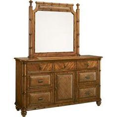 Antigua Dresser/Mirror