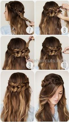 nice 9 Step By Step Hairstyles Perfect For School. Quick Easy Cute and Simple -., styles for long hair length easy step by step nice 9 Step By Step Hairstyles Perfect For School. Quick Easy Cute and Simple -. Box Braids Hairstyles, Easy Hairstyles For Medium Hair, Step By Step Hairstyles, Hairstyles With Bangs, Medium Hair Styles, Cool Hairstyles, Short Hair Styles, Natural Hair Styles, Woman Hairstyles