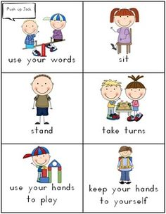 Special Needs Communication Cards - 7 pages These cards are a must when working with special needs or very young children who need help when communicating basic needs.    Keep these small cards in your pocket or around your neck as an aide to bridge the communication between staff and children and children to children. $