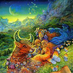 Телец. Венера и Луна вошли в его ментальность. Чувствительность и вкус, чуть-чуть сентиментальность.